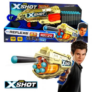 X-SHOT EXCEL 골든리플렉스 6연발